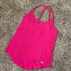 Gilly  Hicks Cross Back Pink Top